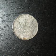 Moneda Romania, An: 1942, Argint - Moneda argint 200 lei Romania 1942, regele Mihai I, necuratata
