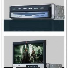 TV televizor auto LCD color OWA 9989 retractabil cu radio si telecomanda 18 cm - TV Auto
