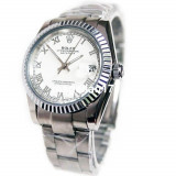 Rolex DateJust Silver Automatic ! ! ! Super Pret ! Cutie Cadou ! ! ! - Ceas barbatesc, Lux - elegant, Mecanic-Automatic, Inox, Data