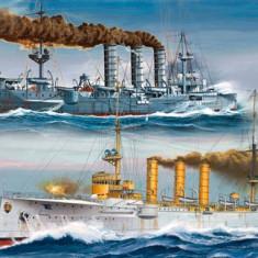 Machete Vapoare Revell SMS Dresden & SMS Emden - RV5500 - Macheta Navala