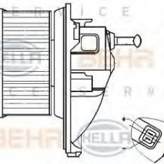 Ventilator, habitaclu MERCEDES-BENZ SPRINTER 2-t bus 208 D - HELLA 8EW 351 304-021 - Motor Ventilator Incalzire