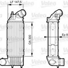Intercooler, compresor PEUGEOT 607 limuzina 2.0 HDI - VALEO 818895 - Intercooler turbo