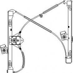Mecanism actionare geam SEAT IBIZA Mk II 1.9 TD - TOPRAN 111 254 - Macara geam