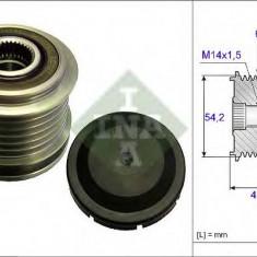 Sistem roata libera, generator FIAT DOBLO caroserie inchisa/combi 1.6 D Multijet - INA 535 0181 10 - Fulie