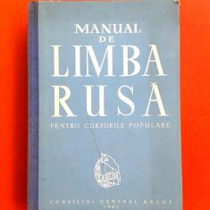 MANUAL DE LIMBA RUSA an ap 1961