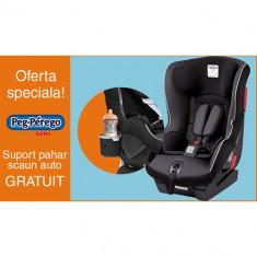 Scaun Auto Viaggio1 Duo Fix K + Suport Pahar PROMO Black - Scaun auto bebelusi grupa 0+ (0-13 kg) Peg Perego