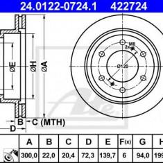 Disc frana MITSUBISHI SHOGUN IV 3.2 DI-D 4WD - ATE 24.0122-0724.1 - Discuri frana REINZ