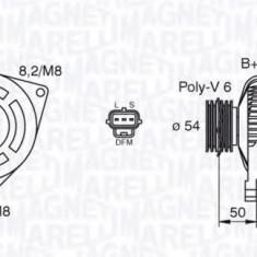Generator / Alternator FORD FOCUS II 1.8 TDCi - MAGNETI MARELLI 063377443010 - Alternator auto