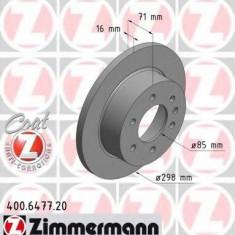 Disc frana VW CRAFTER 30-35 bus 2.0 TDI - ZIMMERMANN 400.6477.20 - Discuri frana fata Moto