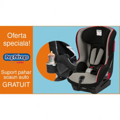 Scaun Auto Viaggio1 Duo Fix K Sport + Suport Pahar PROMO - Scaun auto bebelusi grupa 0+ (0-13 kg) Peg Perego