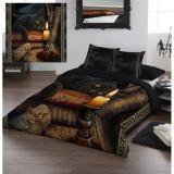 Set lenjerie de pat din bumbac Ora vrăjitoarelor 220x230