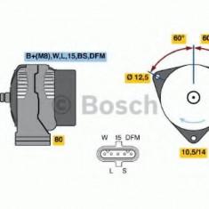 Generator / Alternator - BOSCH 0 124 655 038 - Alternator auto