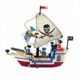 Joc tip Lego Corabie Pirati Pearl Enlighten 304 cu 188 Piese