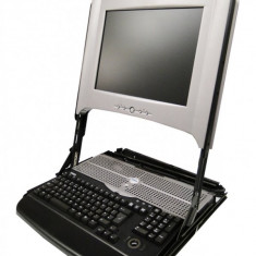 Monitor Consola Rack 1U Dell PowerEdge 15inch TFT 15FP, Fara sine