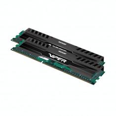 Memorie RAM Patriot 8GB DDR3 1600MHz, 9-9-9-24, Kit 2*4GB, dual channel, 1.5V, Viper 3 Black Mamba Edition
