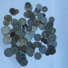 COLECTIE MONEDE - 100 PIESE - Moneda Romania, Alama
