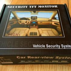 Monitor Auto + Camera Marsarier display LCD 4.3 inch, DVD, Video pt. Masina - Camera mers inapoi