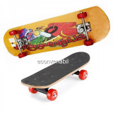 Skateboard cu roti din silicon 80cm