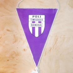 FANION HANDBAL * POLI TIMISOARA