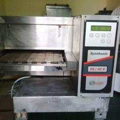 Cupto electric cu tunuel pt. Covrigi cu Alimentare 380V Zanulli - Cuptor Electric Zanussi