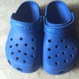 Papuci crocs mas. 28 - Papuci copii Crocs, Culoare: Albastru