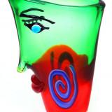 VAZA DEOSEBITA DIN STICLA MURANO - Vaza sticla