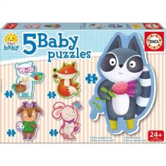 Baby Puzzle Educa Animale