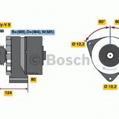 Generator / Alternator MERCEDES-BENZ TRAVEGO O 580-17 RHD - BOSCH 6 033 GB3 023 - Alternator auto