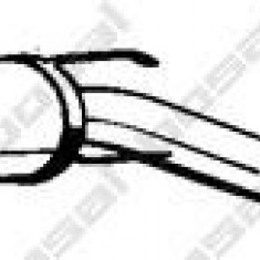 Toba esapamet intermediara OPEL MERIVA 1.8 - BOSAL 285-967 - Toba finala auto