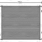 Intercooler, compresor MAN F 90 41.362 VF - VALEO 818744