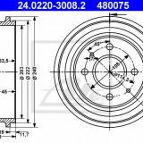 Tambur frana FORD COURIER caroserie 1.8 D - ATE 24.0220-3008.2