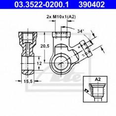 Conector, conducte metal - ATE 03.3522-0200.1