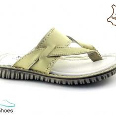 Papuci din piele naturala BAM 352 - Papuci copii, Marime: 31