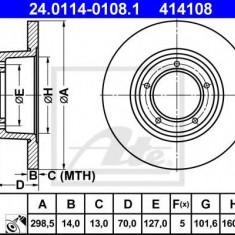 Disc frana LAND ROVER RANGE ROVER  3.5 4x4 - ATE 24.0114-0108.1 - Discuri frana REINZ