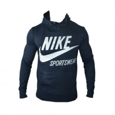 Hanorac Nike Air Max Sportswear Model Cristiano Ronaldo Cod Produs G508 - Hanorac barbati Nike, Marime: L, XL, Culoare: Albastru, Bumbac