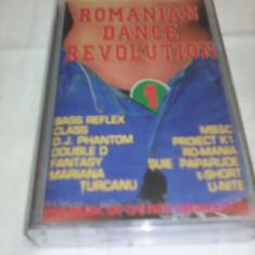 CASETA AUDIO ROMANIAN DANCE REVOLUTION ORIGINALA - Muzica Dance, Casete audio