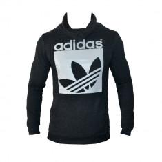 Hanorac Adidas Originals - Gri Negru sau Albastru - Toate Mas - din Bumbac G328 - Hanorac barbati, Marime: XS, S, M, L