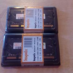 Memorie LAPTOP HYNIX 2x2GB(4GB) DDR2 800mHZ NOI GARANTIE SI FACTURA 12Luni. - Memorie RAM laptop Hynix, Dual channel