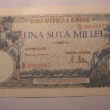 100000 lei 1946 Octombrie UNC