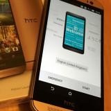 HTC One LTE M8 GOLD - LIBER IN ORICE RETEA , IMPECABIL,  ACCESORII SIGILATE