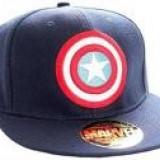 Sapca Captain America Classic Logo Navy