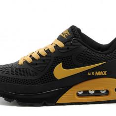 Nike Air Max 90 negru auriu - Adidasi barbati, Marime: 39, 40, 41, 42, 43, 44, Culoare: Din imagine