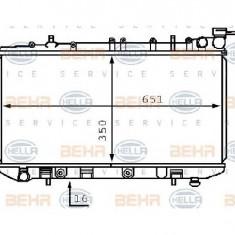 Radiator, racire motor NISSAN SUNNY Mk III N14 PRODUCATOR HELLA 8MK 376 708-001