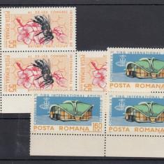 ROMANIA 1965, LP 610, APICULTURA 3 SERII MNH, LOT 0 RO - Timbre Romania, Nestampilat
