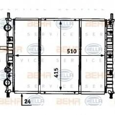 Radiator, racire motor FIAT BRAVA 182 PRODUCATOR HELLA 8MK 376 718-201