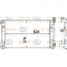 Radiator, racire motor TOYOTA AVENSIS Combi T25 PRODUCATOR HELLA 8MK 376 773-681