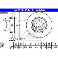Disc frana MAZDA 6 Hatchback GG PRODUCATOR ATE 24.0125-0147.1 - Discuri frana