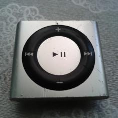 iPod Shuffle Apple 4TH GENERATION 2 GB MODEL A1373 PERFECT FUNCTIONAL, 8 ORE BATERIA, Gri