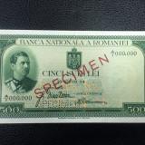 Specimen 500 lei 1934 Rar!!!!!!