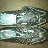 Adidasi din piele tip sport - Adidasi barbati Nevica, Marime: 44, Culoare: Negru